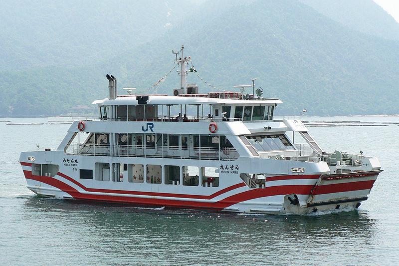 Traghetto JR da Hiroshima a Miyajima