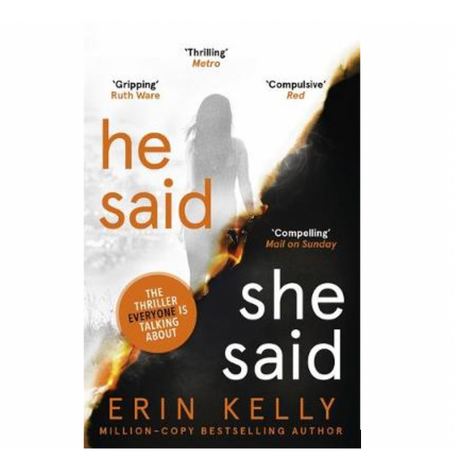 "11th Jan 2021 7.30pm - ""He Said/She Said"" with Erin Kelly"