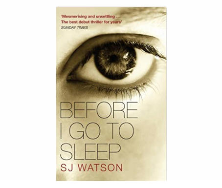 "4th Feb 2021 7.30pm - ""Before I Go to Sleep"" with S J Watson"
