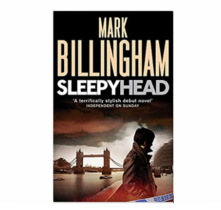 "24th Jan 2021 7.30pm - ""Sleepyhead"" with Mark Billingham"