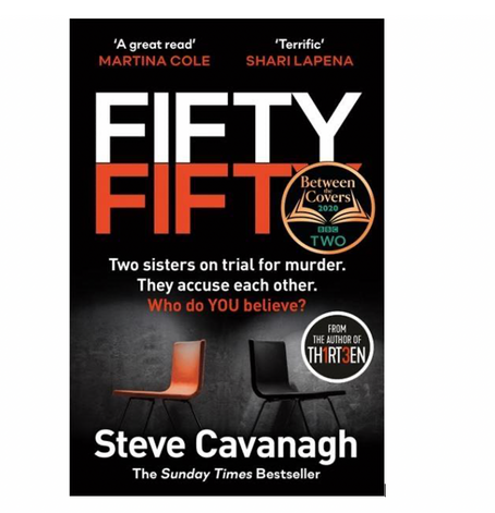"13th Dec 7pm - ""Fifty Fifty"" with Steve Cavanagh"