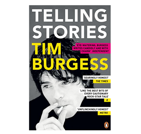 """22nd July 2021 7.30pm - """"Telling Stories"""" with Tim Burgess"""