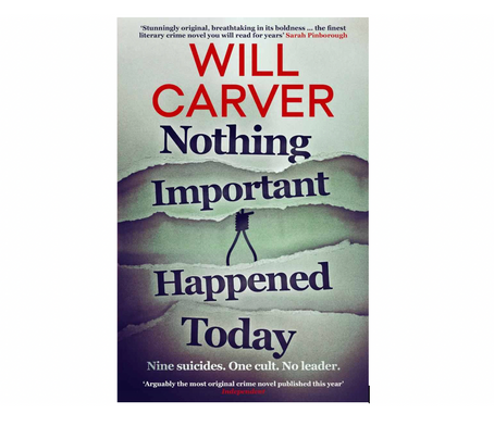 "10th Jan 2021 7.30pm - ""Nothing Important Happened Today"" with Will Carver"