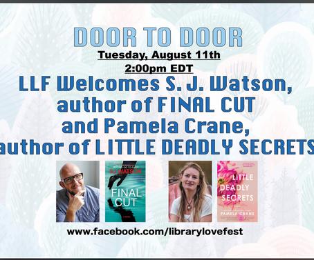 S J Watson in online Library Love Fest Event