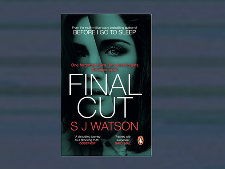 Final Cut out in paperback, with new cover