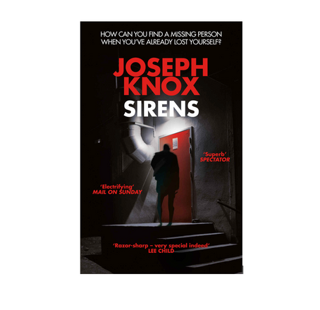 """22nd April 2021 7.30pm - """"Sirens"""" with Joseph Knox"""