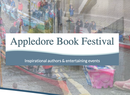 S J Watson at Appledore Book Festival