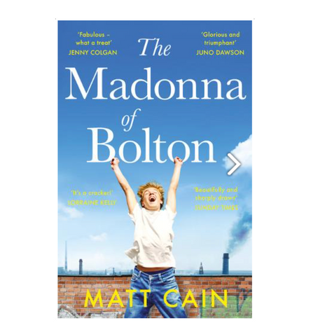 """6th May 2021 7.30pm - """"The Madonna of Bolton"""" with Matt Cain"""