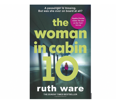 "14th Jan 2021 7.30pm - ""The Woman in Cabin 10"" with Ruth Ware"