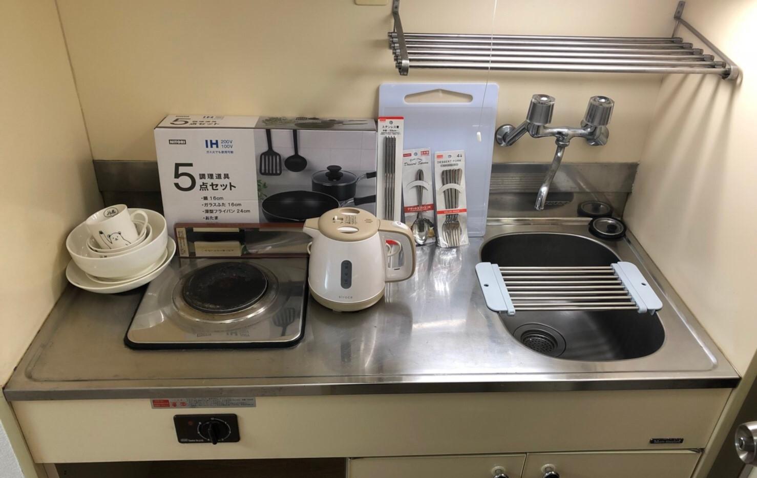 廚房&熱水壺&廚具&餐具