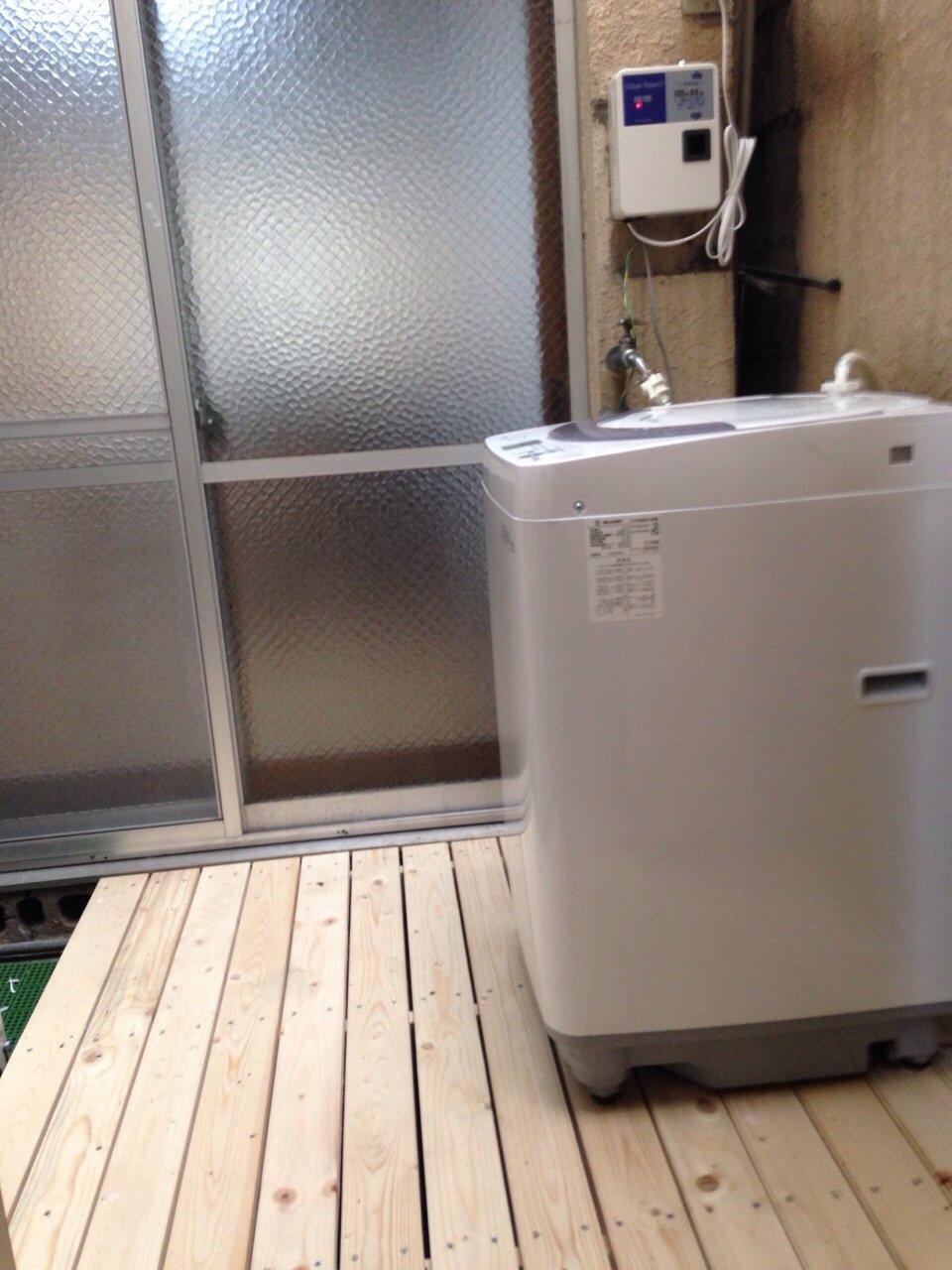 洗衣機(¥100/次)*所有學生皆可使用(1F)