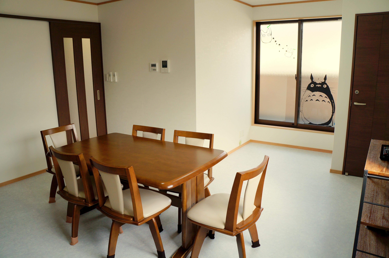 2F 廚房 &房 & 餐廳, Dining room & kitchen