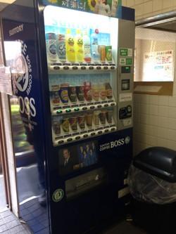 1樓入口附近的自動販賣機