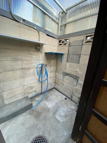 玄関外収納空間