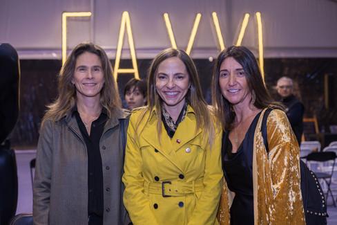 Andrea Lecaros, Isabel Pla y Tere Correa