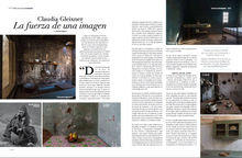 Claudia Gleixner en Revista PM