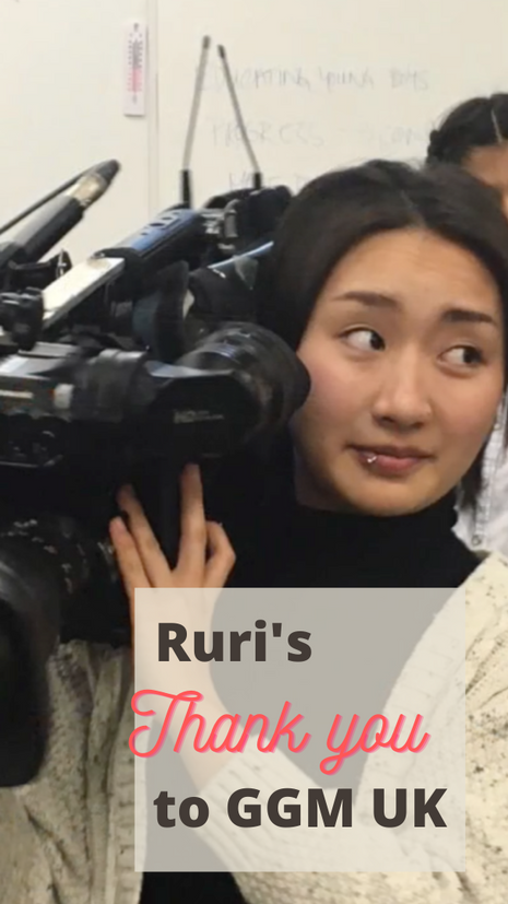 Ruri's Thank you to GGM