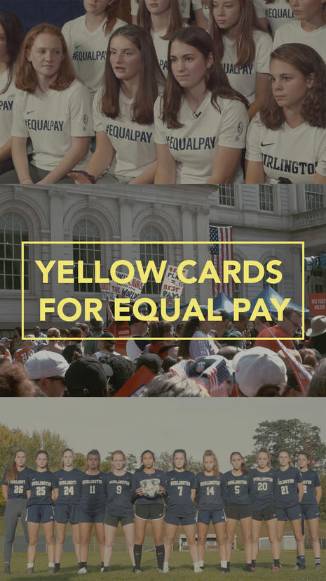 Yellow Cards for Equal Pay