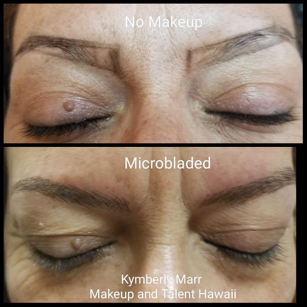 Maui Microbladed brows