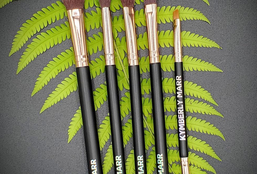 5 Piece Eyeshadow Brush Wardrobe