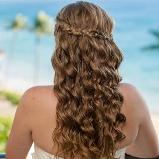 Hair Design: Emily MAKEUP AND TALENT HAWAII