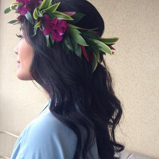 Hair Design: Sarah Ann MAKEUP AND TALENT HAWAII