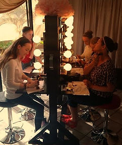 Sweet 16 Birthday Party Ideas, makeup overs for teens, moms, friends
