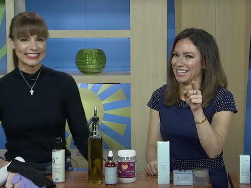 """""""Caring for your Skin in the Winter"""" on New Day Cleveland!"""
