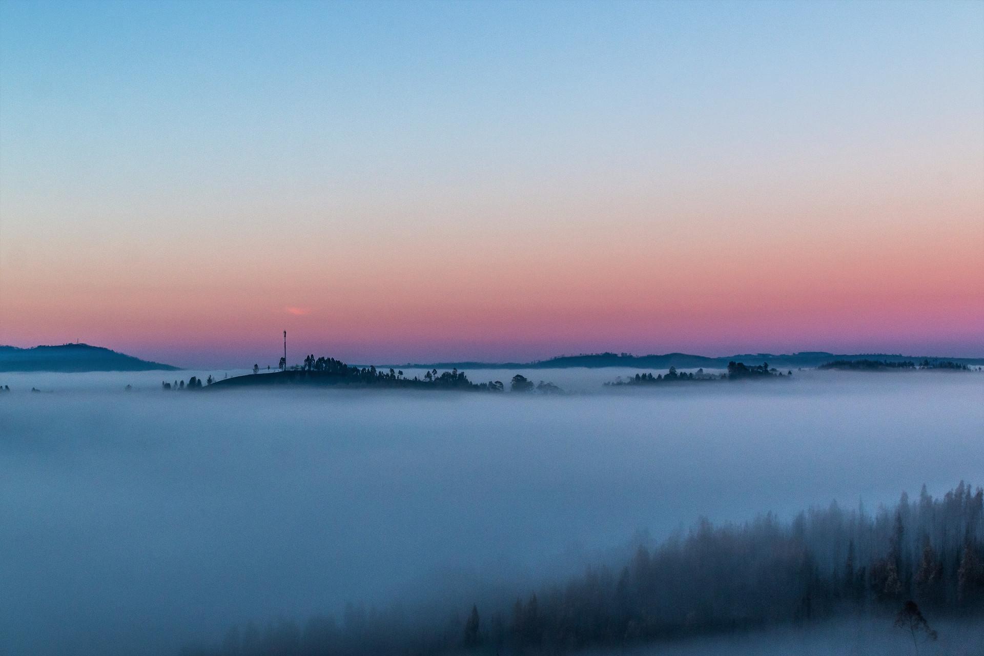 A magical dawn