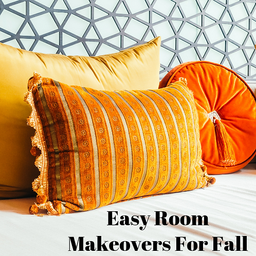 Easy Room Makeovers For Fall Article