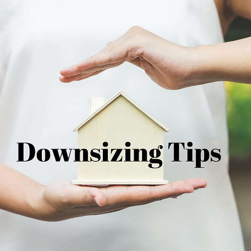 Downsizing Tips Article