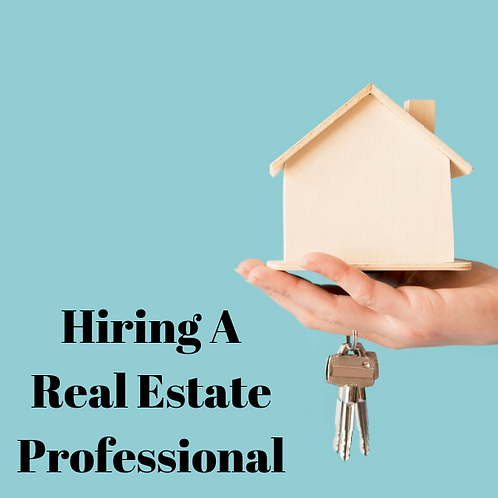 Hiring A Real Estate Professional Article