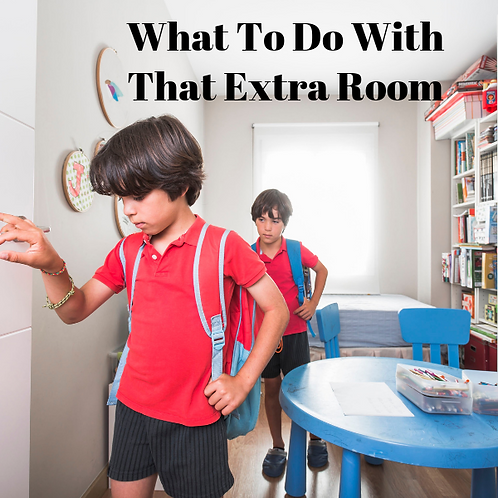 What To Do With That Extra Room Article
