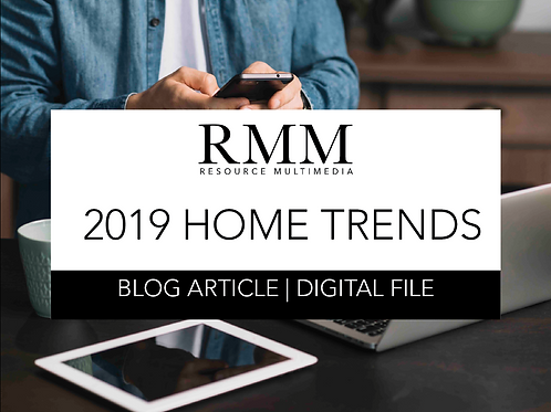 2019 Home Trends