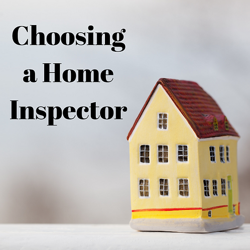 Choosing A Home Inspector Article