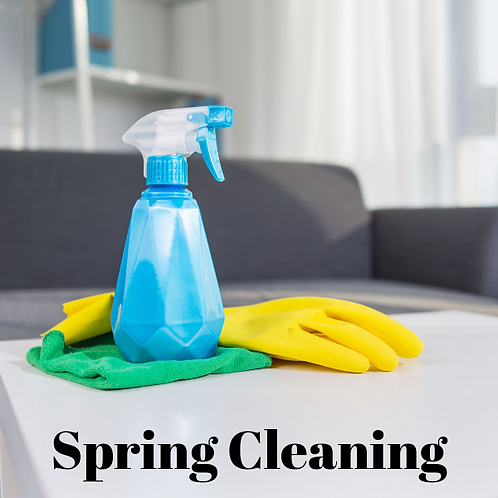 Spring Cleaning Article