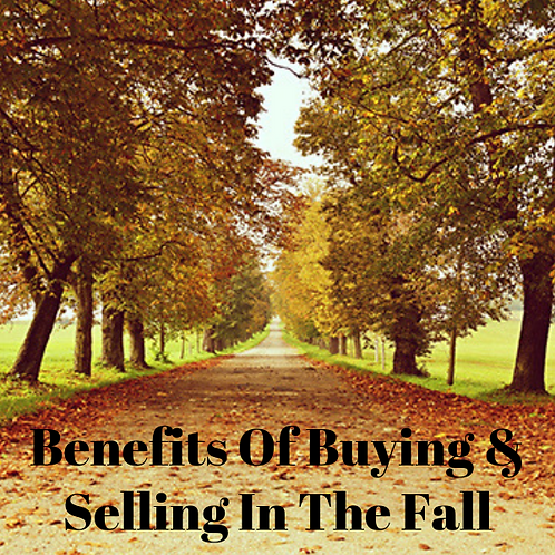 Benefits Of Buying And Selling In The Fall Article