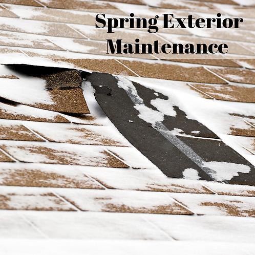 Spring Exterior Maintenance Article