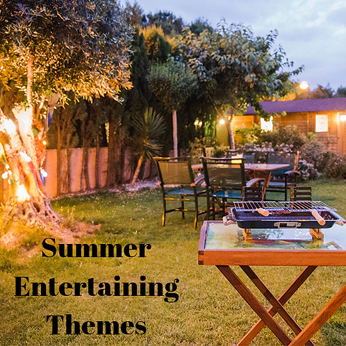 Summer Entertaining Themes Article