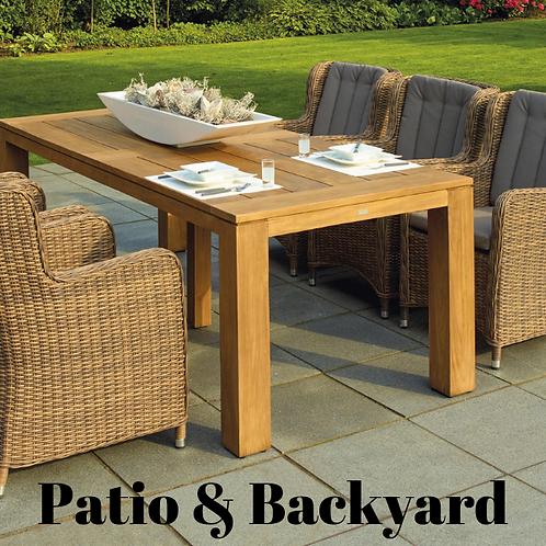 Patio And Backyard Article