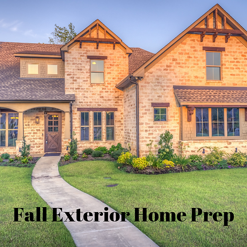 Fall Exterior Home Prep