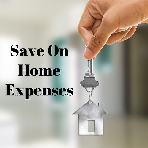 Save On Home Expenses Article