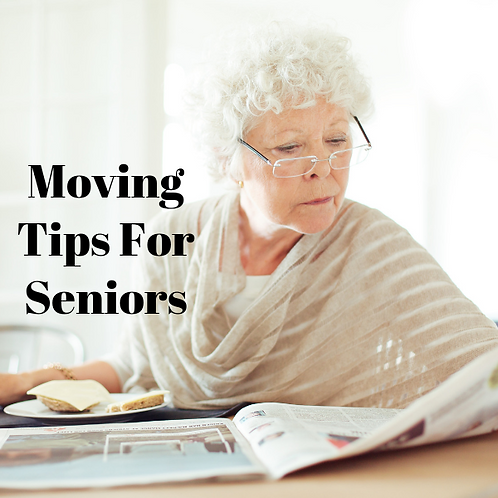 Moving Tips For Seniors Article