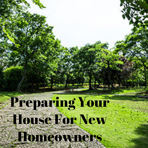 Preparing Your House For New Homeowners Article