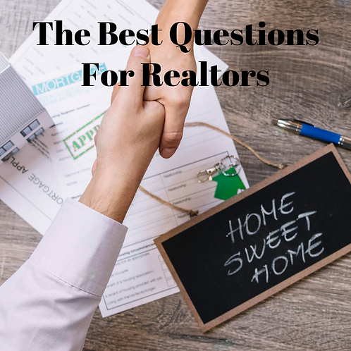 The Best Questions For Realtors Article