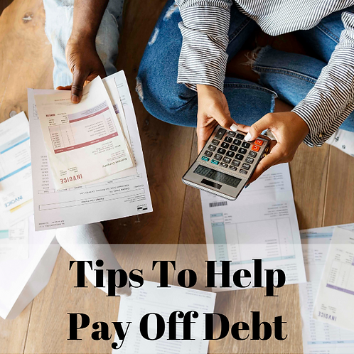 Tips To Help Pay Off Debt Article