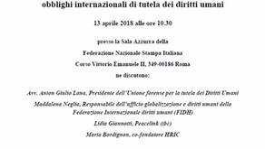 """Presentazione del Rapporto """"Il disastro ambientale dell'ILVA"""" - Roma, 13 aprile 2018"""