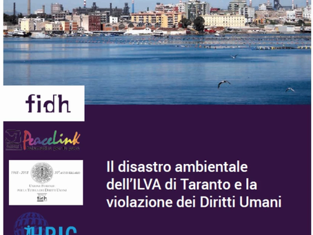 (IT) Pubblicata la sentenza della Corte Europea dei Diritti Umani sul caso #ILVA