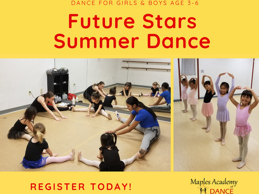 Why Summer Dance? Because Summer Dance Means Summer Fun!