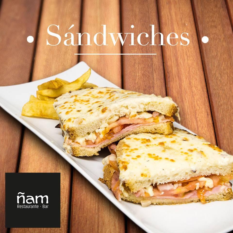 #ñamrestaurantes #sandwich
